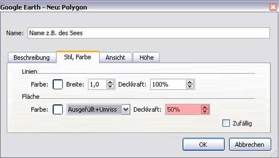 Polygon Deckkraft 50%
